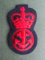 Royal Navy Ratings Cap Badge
