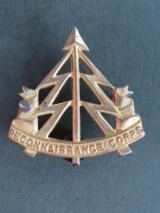 British Army WW2 The Reconnaissance Corps Cap Badge
