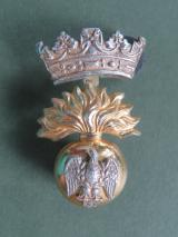 British Army The Royal Irish Fusiliers Officer's Collar Badge