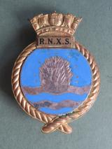 Royal Navy, 1970's R.N.X.S. (Royal Naval Auxiliary Service) Cap Badge
