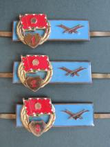 Hungary Pre 1991 Army Anti-Aircraft Gunners Badges 1st, 2nd & 3rd Classes