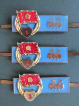 Hungary Pre 1991 Army Vehicle Mechanic Badges 1st, 2nd & 3rd Classes